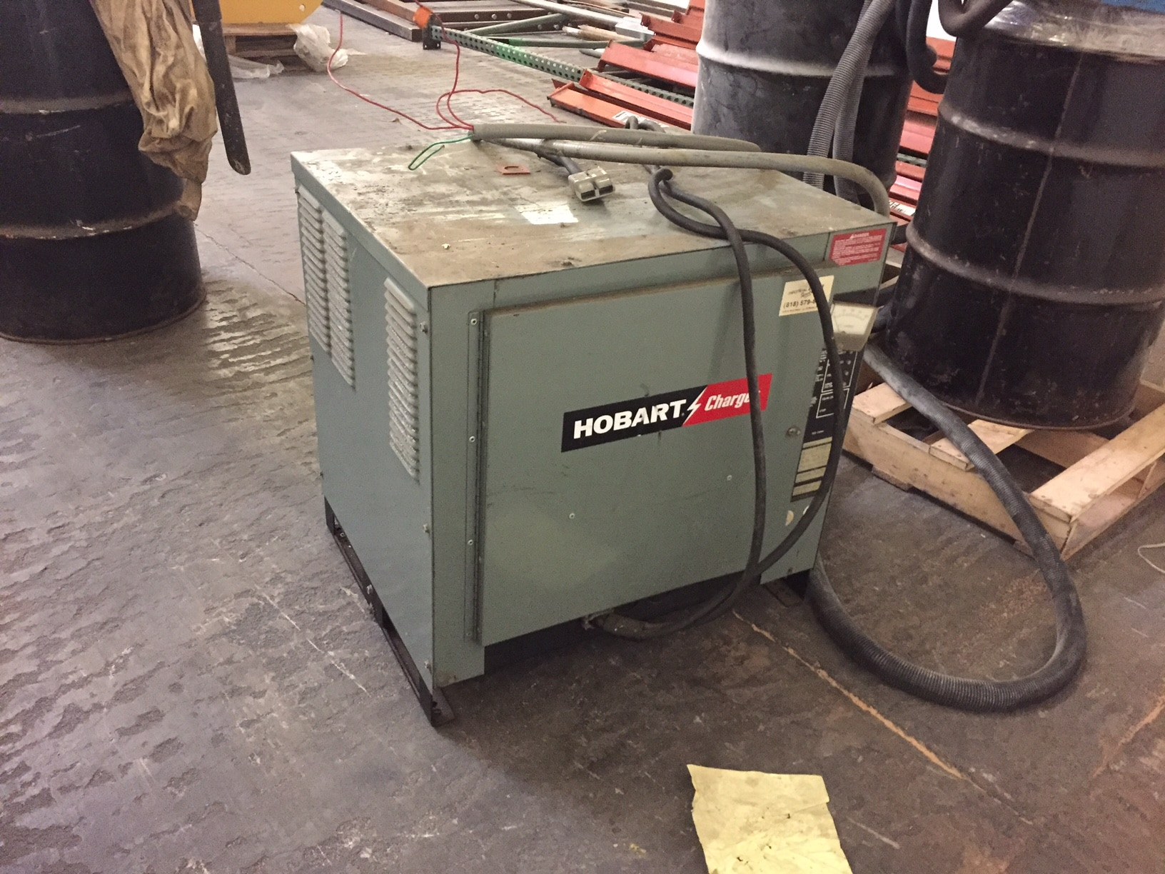 Hobart-Fork-Lift-Battery-Charger