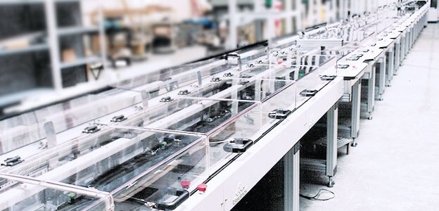 Pallet & Bulk Conveyor System
