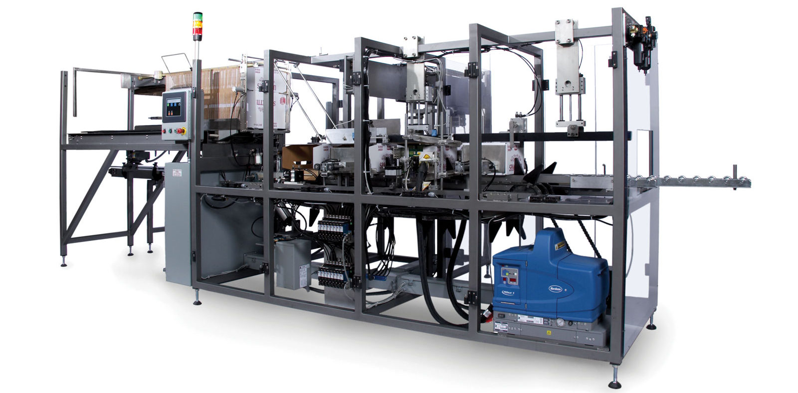 TPMI 1800-GS automatic casepacker for cartons