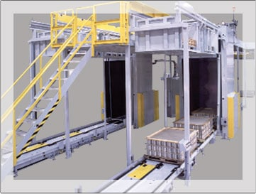 High Level Bulk Container Depalletizers